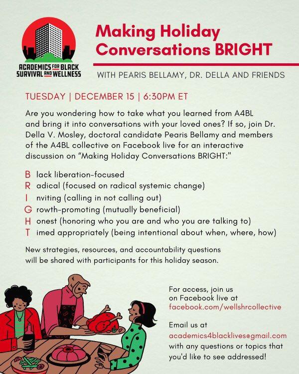 Making Holiday Conversations BRIGHT flye