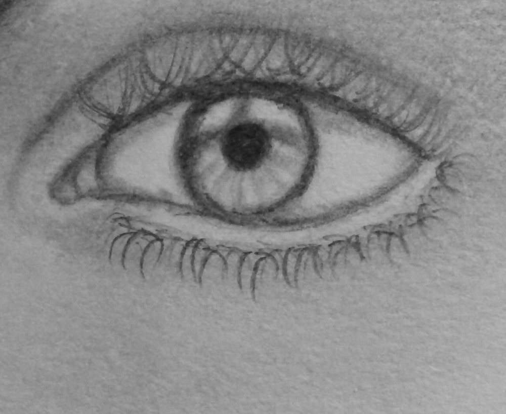 How To Draw A Realistic Eye Step By Step Easy Drawing Tutorial
