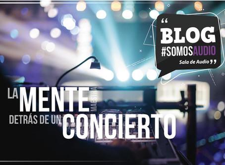 ¿Quién está detrás de un buen concierto?