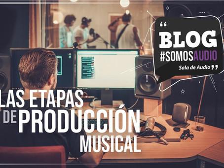 Ingeniería en audio: las etapas de la producción musical