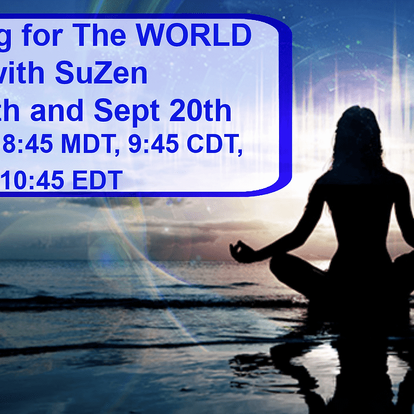 Chanting for the World with Suzen