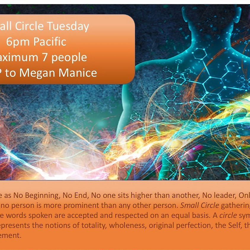 Tuesday 'Self-Inquiry' Small Circle (3 of 3)