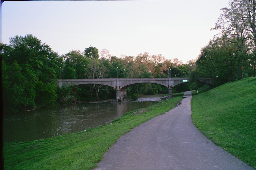 The White River. Muncie, IN.