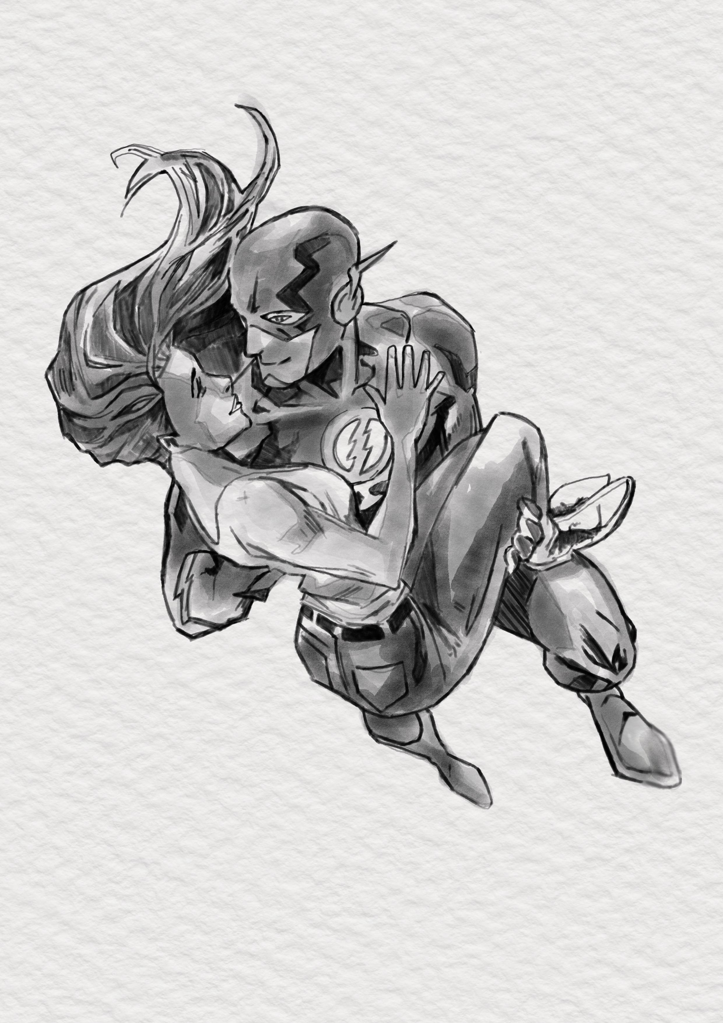 flash and iris