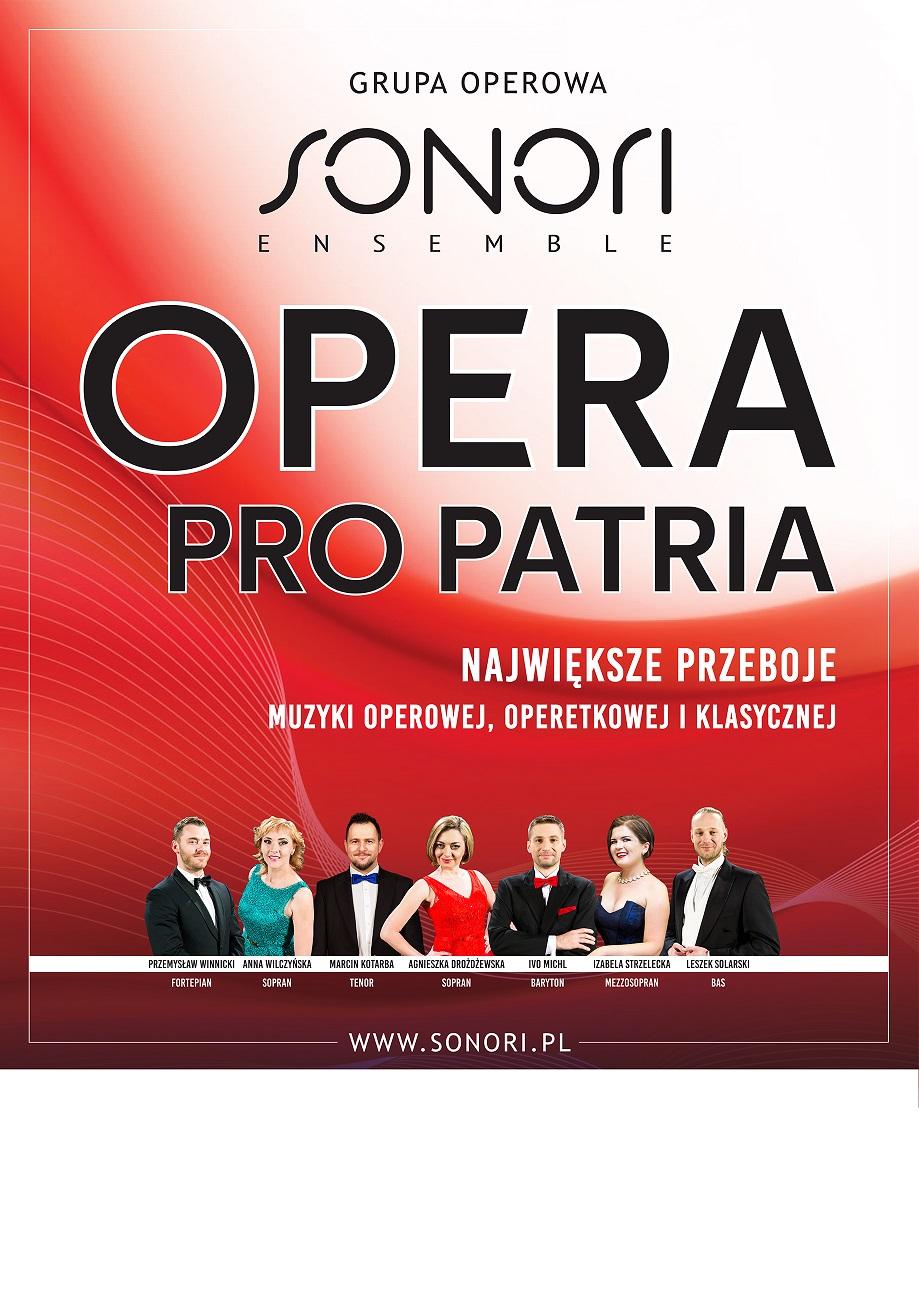 plakat Opera pro Patria