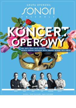 plakat Koncert operowy