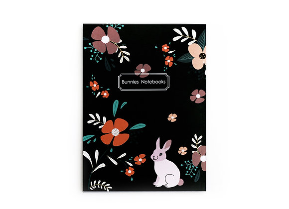 Notebook, Soft cover, flowers