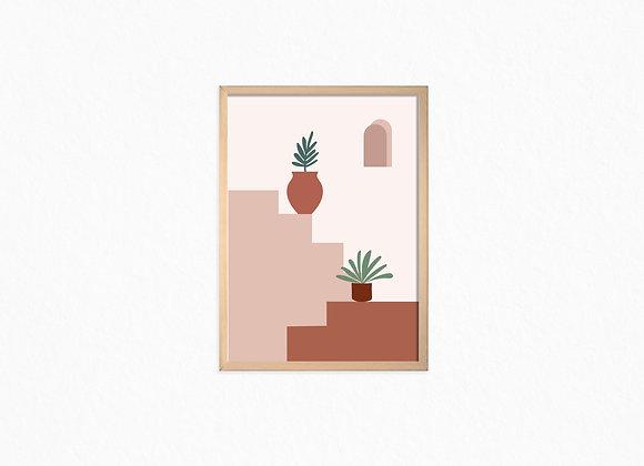 Print, plants