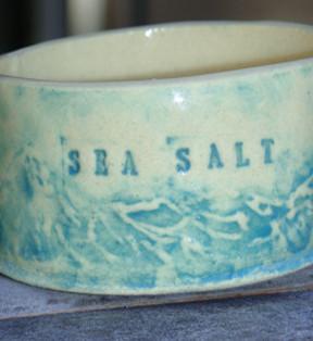 Sea Salt Pot