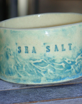 Sea Salt Pot