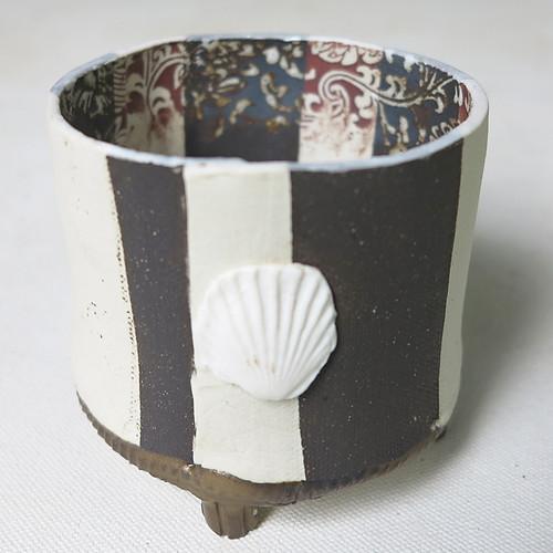 Stripey Pot
