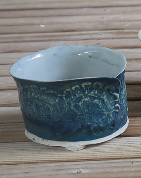 Salt Fired Oxide Pot