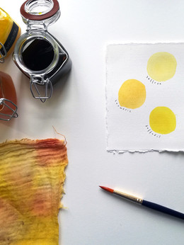 Experiments in yellow