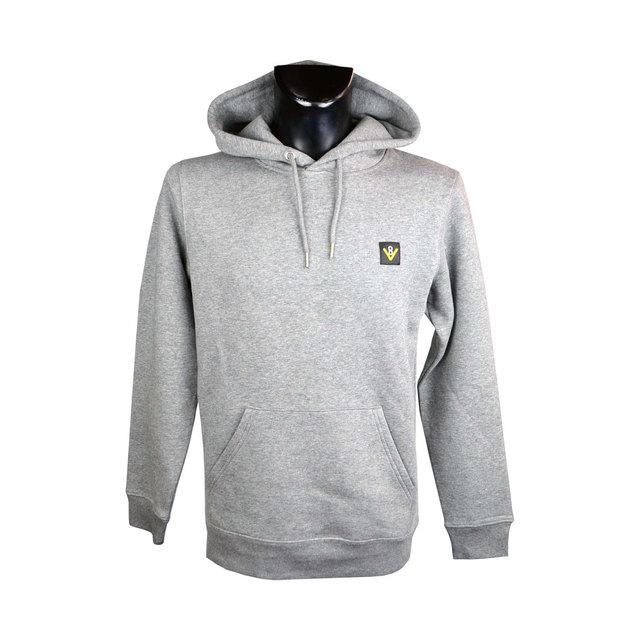 Mens Cruiser Iconic Hoodie Sweatshirt - Heather Grey