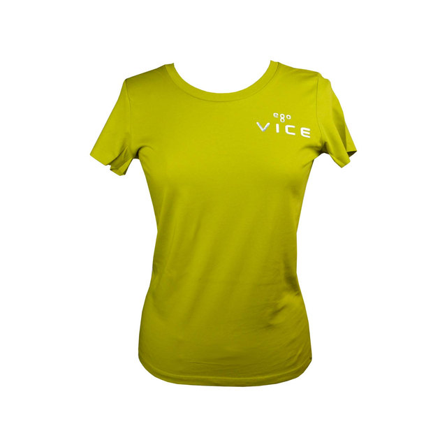 Ladies Expresser Iconic Fitted T-shirt - Hay