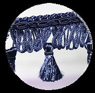 Tassels blue