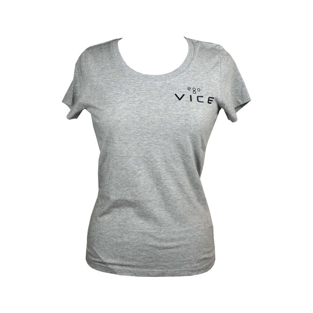 Ladies Expresser Iconic Fitted T-shirt - Grey