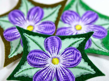 Our Unique Technique... Mock Embroidery!