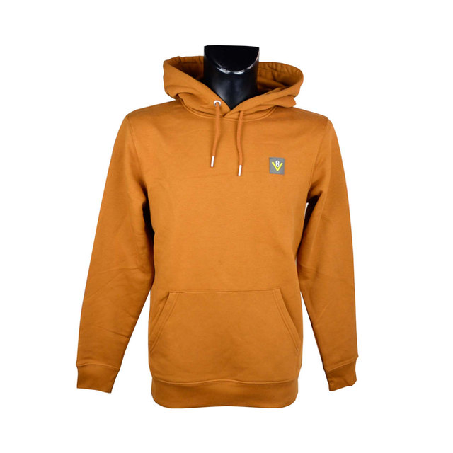 Mens Cruiser Iconic Hoodie Sweatshirt - Roasted Orange