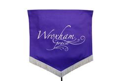 Silver & Purple Banner