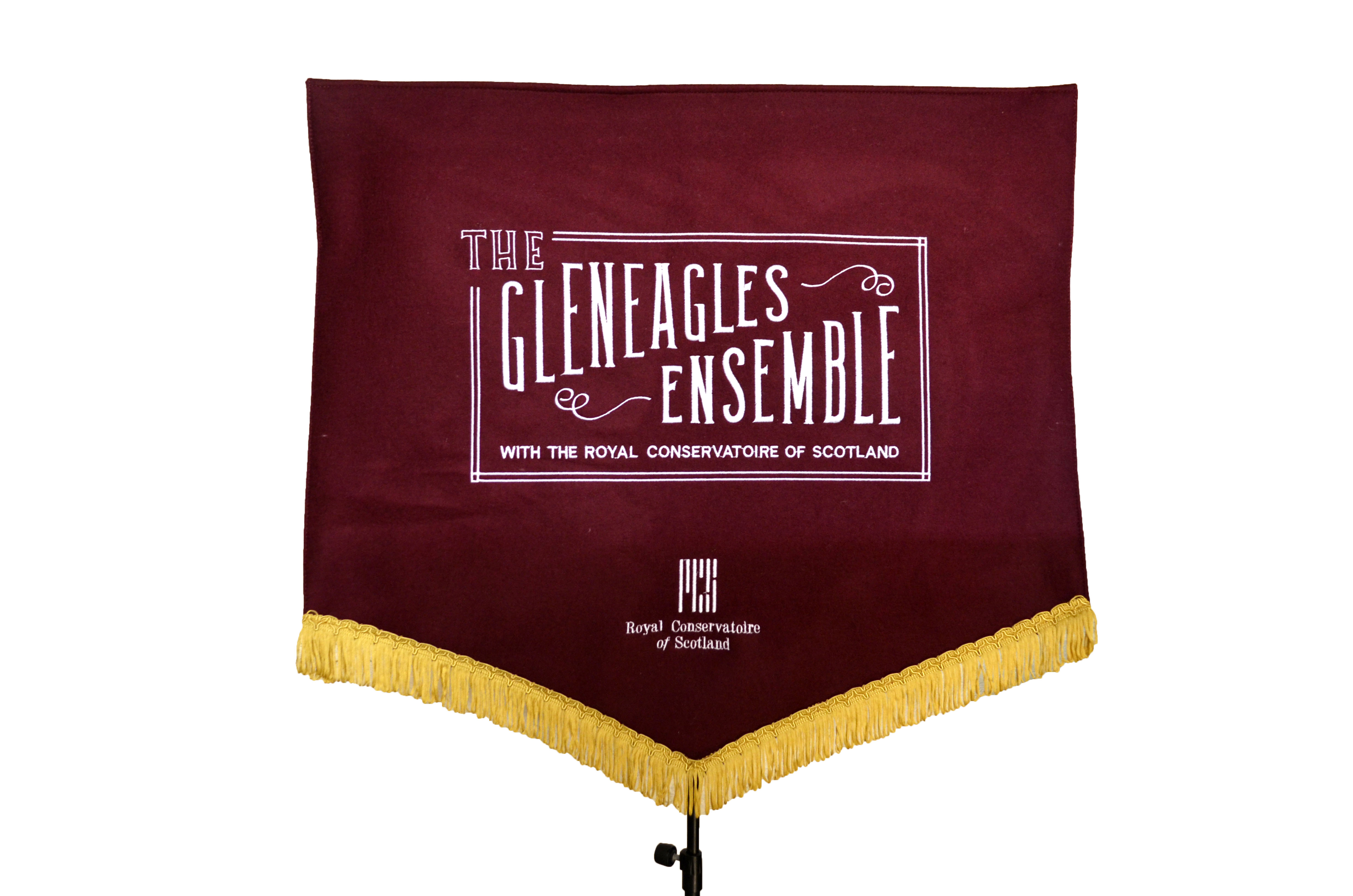PolyWool Embroidered Banner