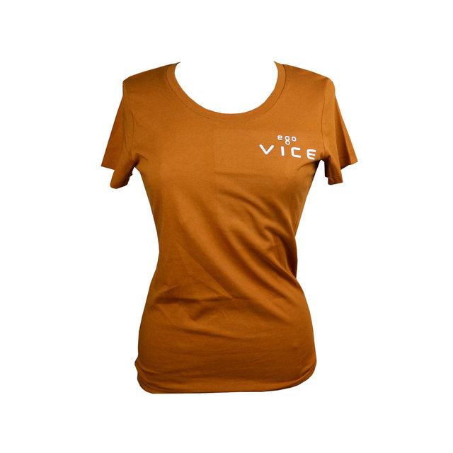 Ladies Expresser Iconic Fitted T-shirt - Roasted Orange