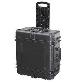 Toughened Case with Wheels