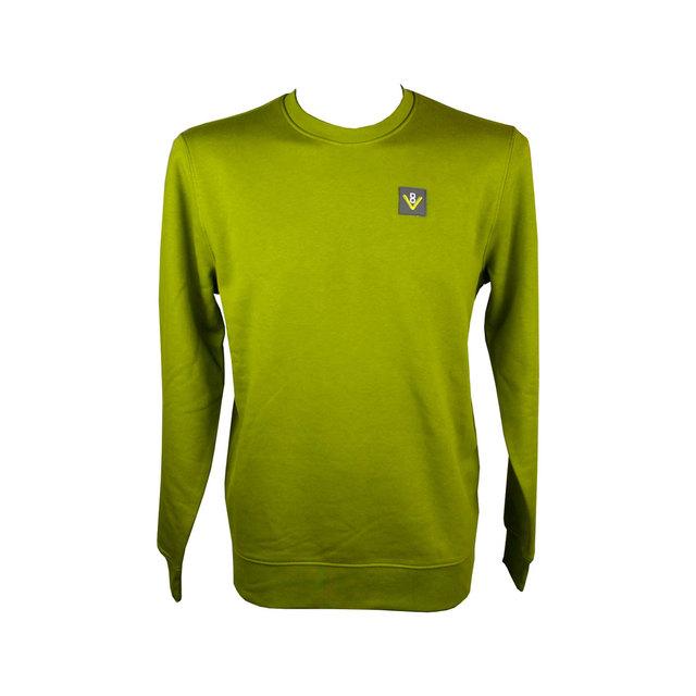 Mens Changer Iconic Crew Neck Sweatshirt - Moss Green