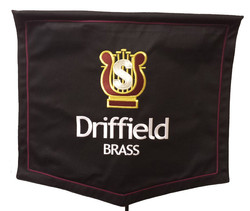 Brass Band Banner Embroidered