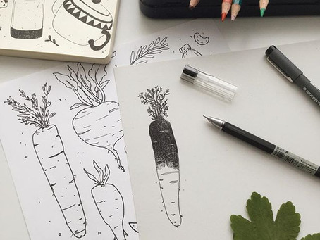 Ink Veggies
