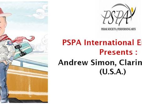 PSPA International Ensemble - Andrew Simon, Clarinet Soloist
