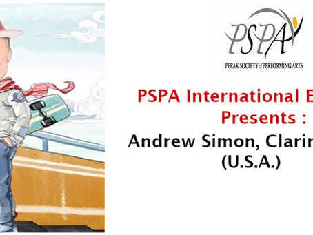 PSPA International Ensemble - Andrew Simon, Clarinet Soloist