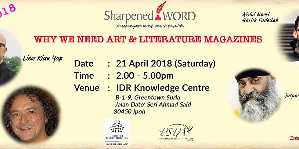 Sharpened Word - April 2018