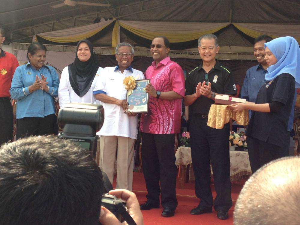 Tuan Haji Odzman, Director of Perak Tourisma Assoc.