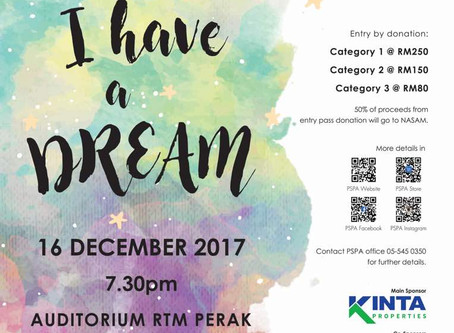 PSPA Singers I Have A Dream - 3 Days To Go