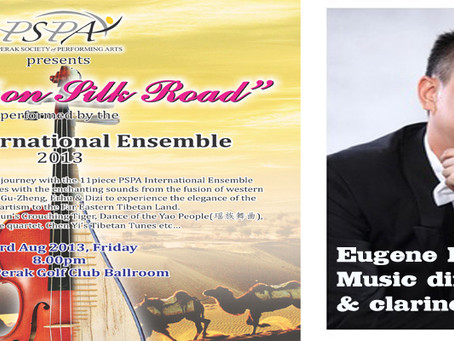 "PSPA International Ensemble ""Mozart on Silk Road"" - Eugene Pook"