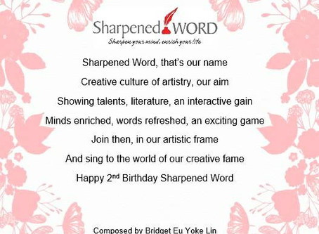 Sharpened Word - We are 2 years old!