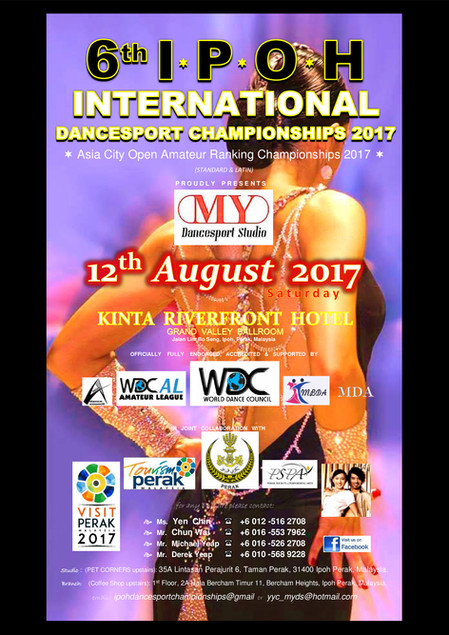 6th IPOH International Dancesport Championships 2017