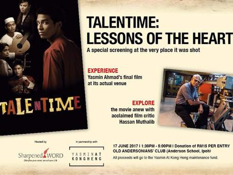 "Yasmin Ahmad's ""Talentime"" with Sharpened Word - Trailer"