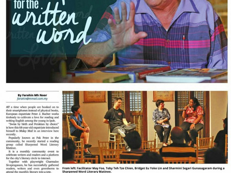 Sharpened Word Featured in The Malay Mail