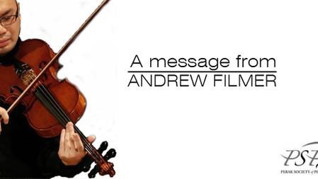 PSPA international Ensemble Presents Andrew Filmer, Viola