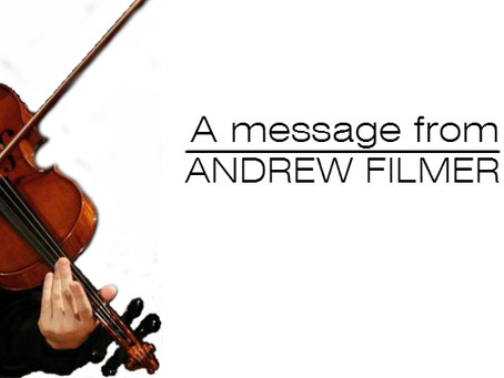 PSPA international Ensemble Presents Andrew Filmer, Viola