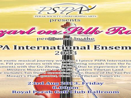 "PSPA International Ensemble ""Mozart on Silk Road""  - 23rd August 2013"