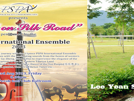 "PSPA International Ensemble ""Mozart on Silk Road"" - Lee Yean Sing"