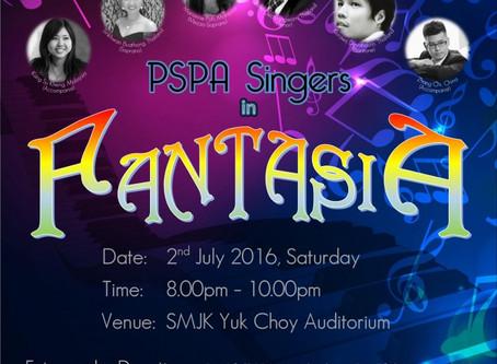 PSPA Singer in Fantasia – Disney and Musical