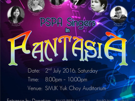 PSPA Singer in Fantasia – The Classical Music