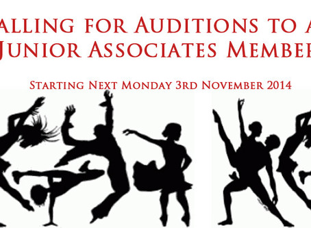 Calling for Auditions to all Junior Associates Members