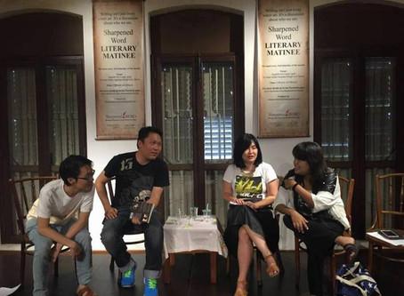 Sharpened Word - Letter from Alexandra Wong