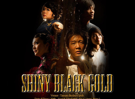Shiny Black Gold
