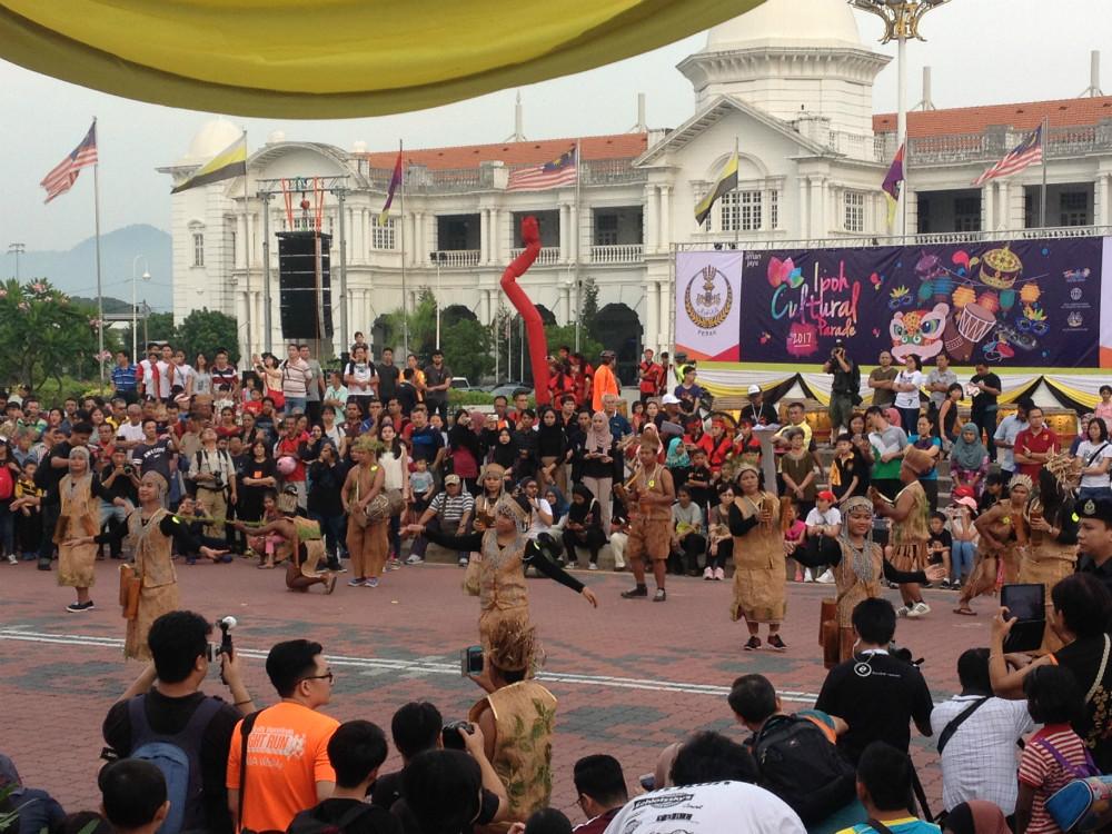 Parade by Persatuan Orang Asli Perak